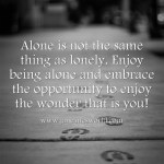 alone is not lonely www.janeanesworld.com