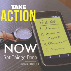 take action now and get things done 250 x 250