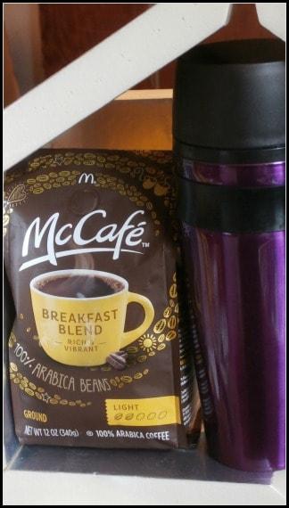 #McCafeMyWay coffee and mug