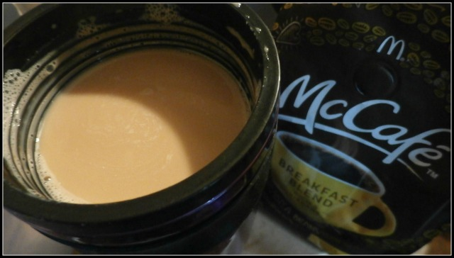 #McCafeMyWay cup of coffe to drink