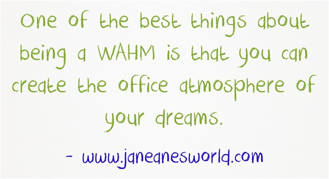 wahm create your office www.janeanesworld.com