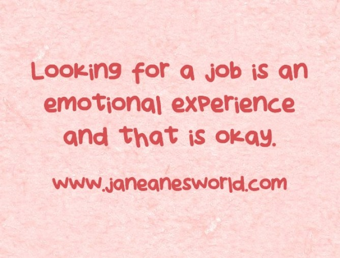 emotions on the job hunt