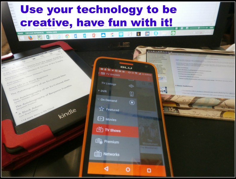 be creative with technology
