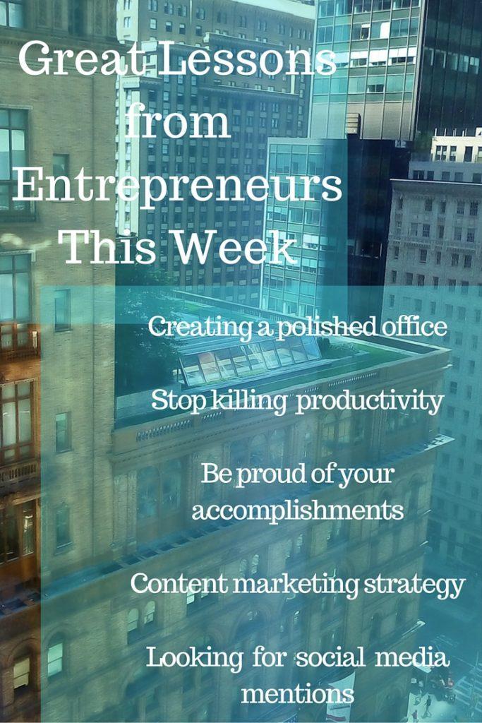 tips from entrepreneurs