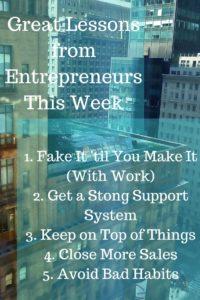 lessons for entrepreneurs