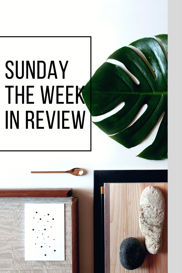 Sunday week in review