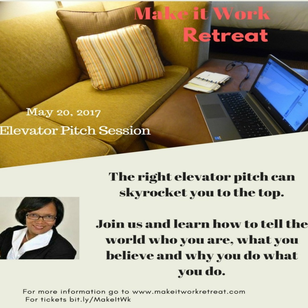 create an elevator pitch to take you to the top