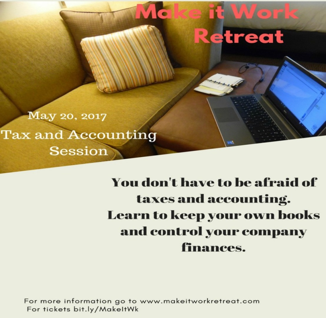 taxes and accountin gfor small businesses and bloggers