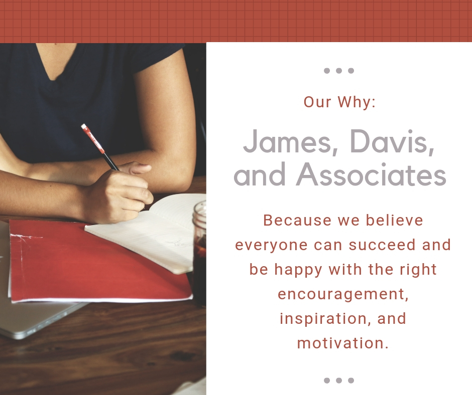 Our why -Encouraging, inspiring, and motivating you to be your best at work and home