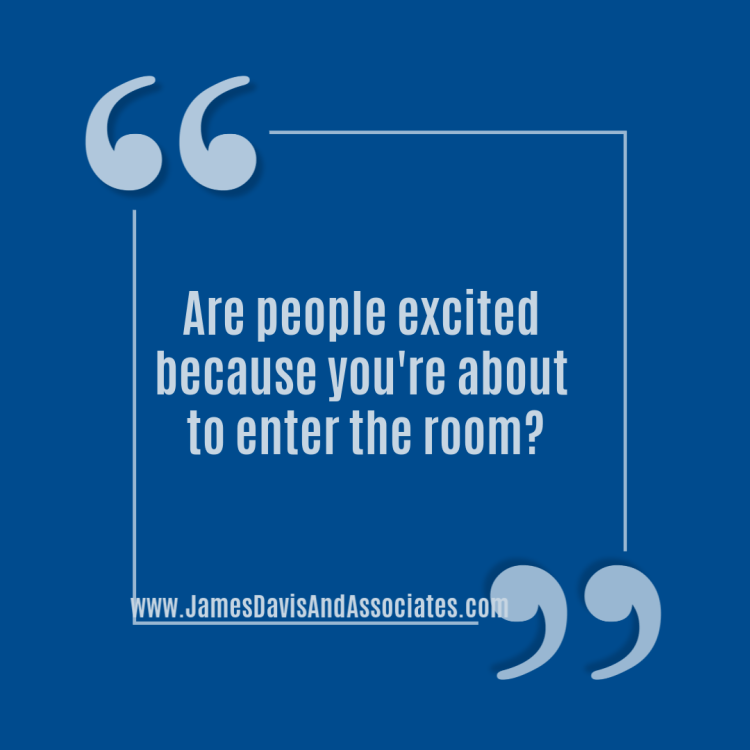 Miracle Morning - Miracle Morning - Are people excited because you're about to enter the room?