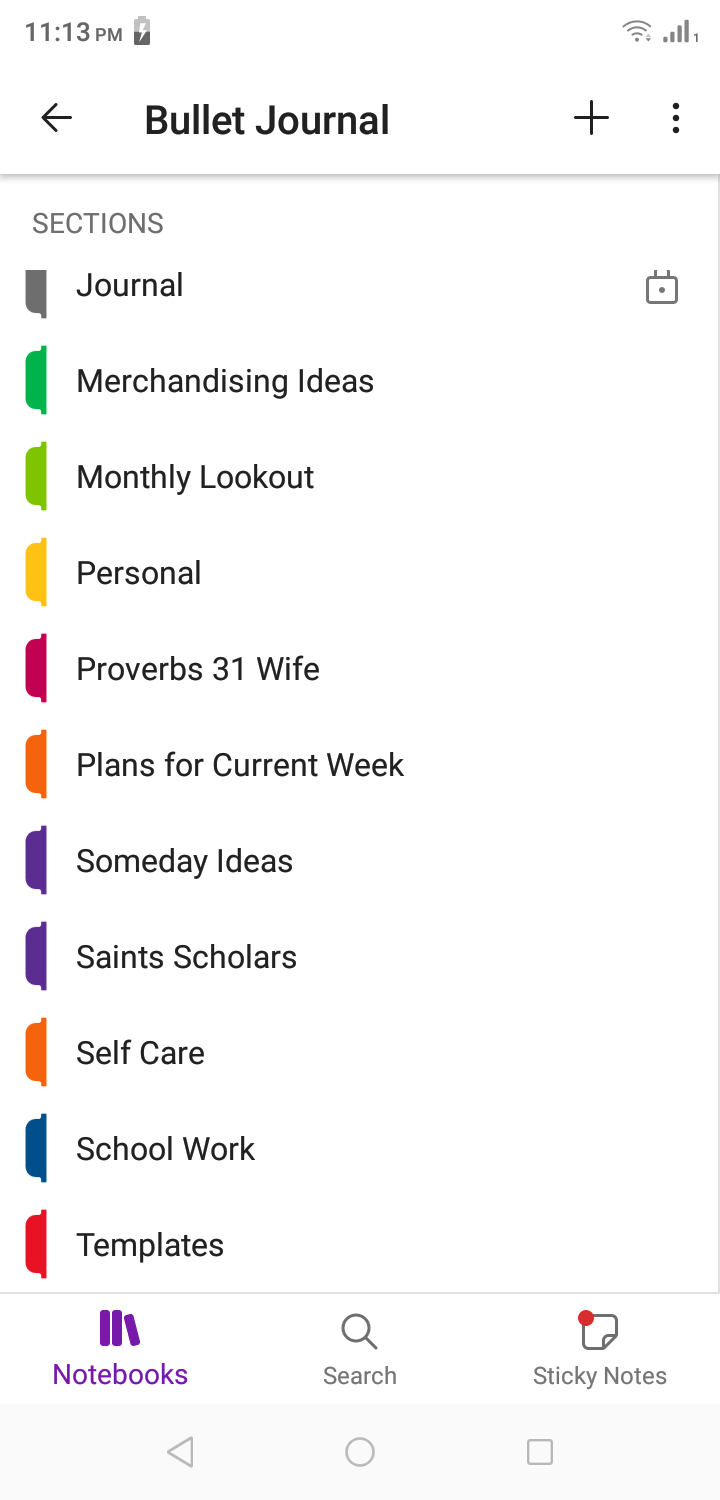 Use Your Phone as a Personal Organizer or Bullet Journal