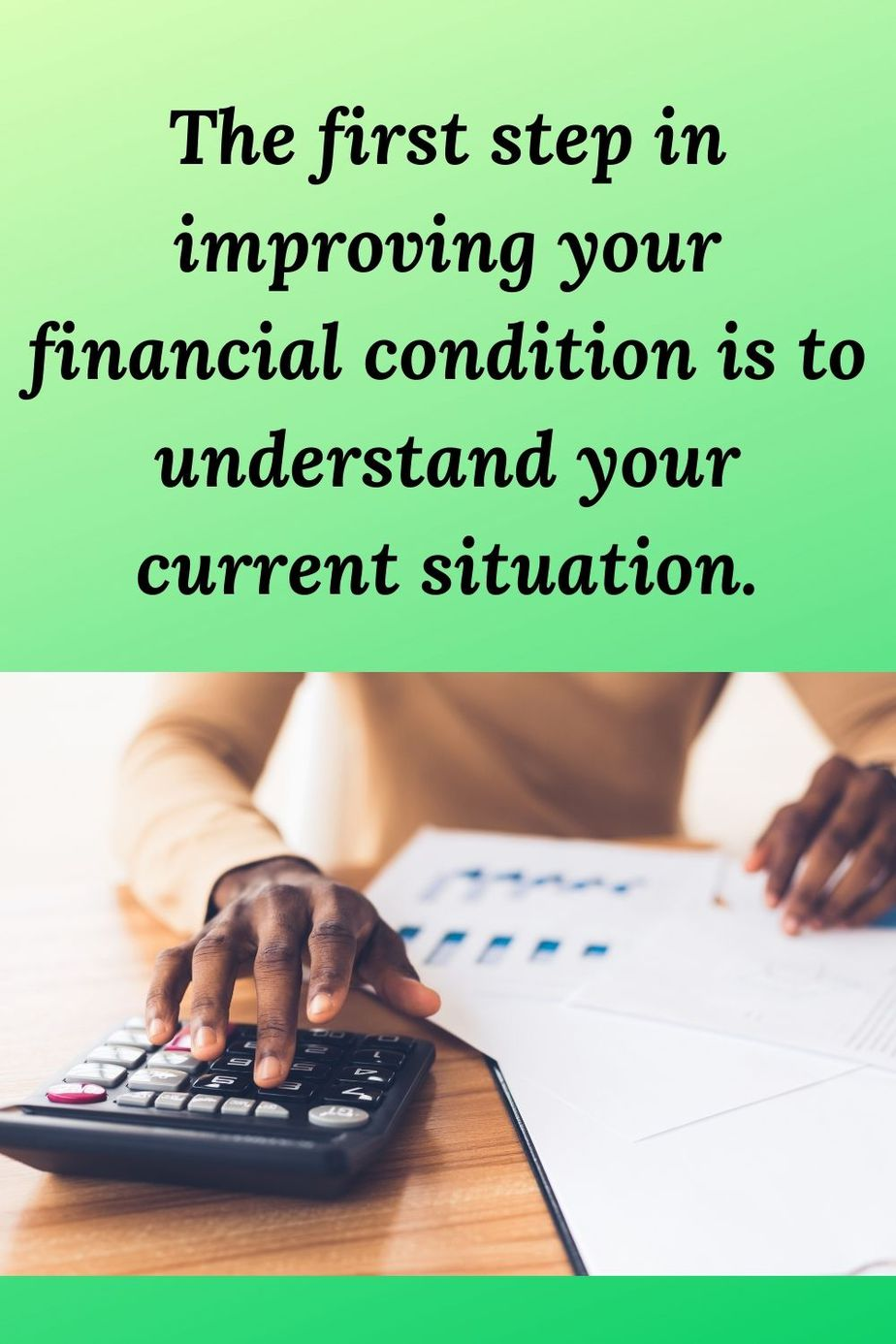 Control – Take Action Now to Control Your Finances