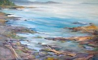 Galiano Vista 34 x 55 Oil on Canvas, Painted on location