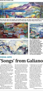 Tricities News Article Printed - Arts