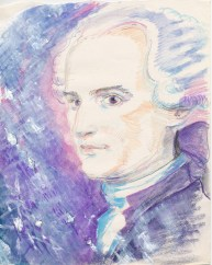 In Mozartian mode. He could materialise diamonds from the air, and mend those ones which were flawed.