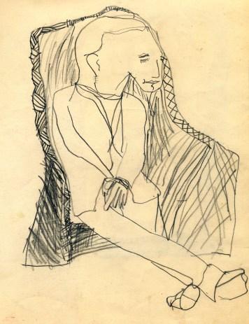 sketch in 1955