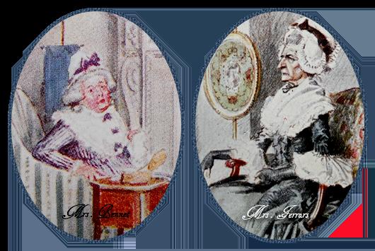 Sogras de Jane Austen, Mrs. Bennet e Mrs. Ferrars