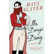 book cover mr darcy's diary