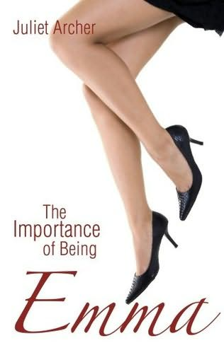 book cover importance of being emma