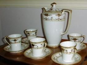 Noritake chocolate set