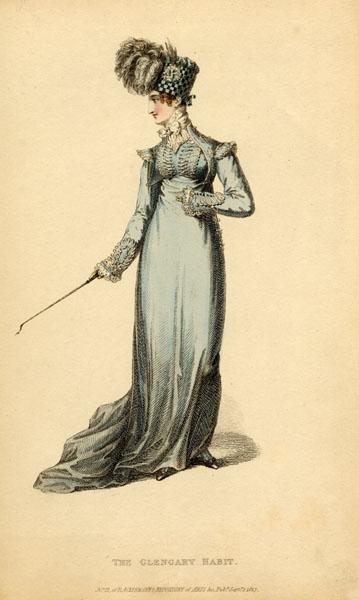 Glengarry riding habit, 1817