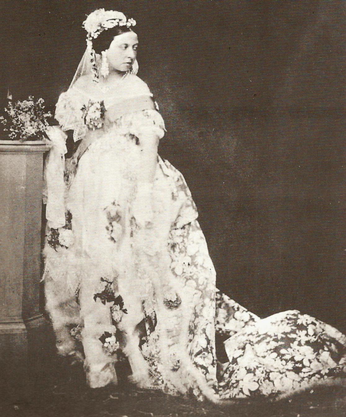 Queen Victoria's White Gown
