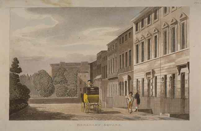 Berkeley Square, 1813