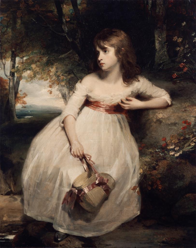 1790 Portrait of a Girl, John Hoppner