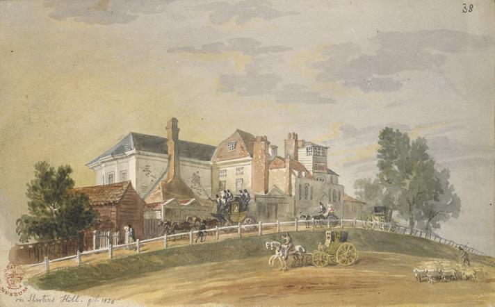 Shooter's Hill, George Scharf, 1826