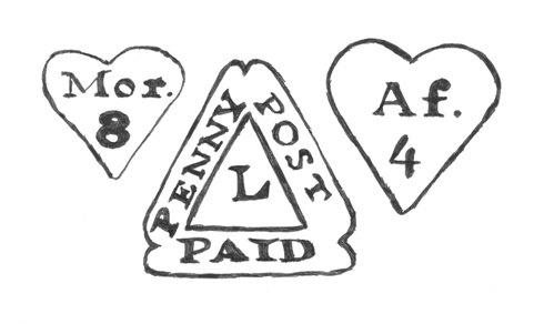William Dockwra's postal markings