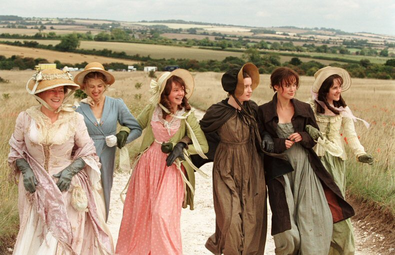 Bennet women 2005 Pride and Prejudice