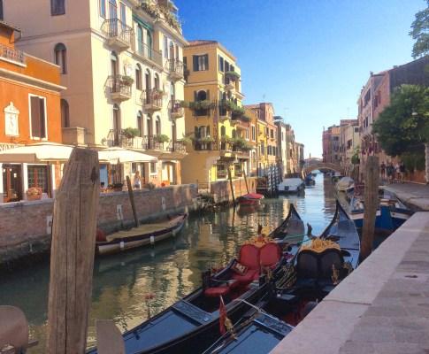 Weekend getaway med børn til Venedig