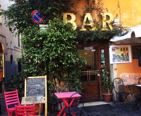 Spisesteder i Rom