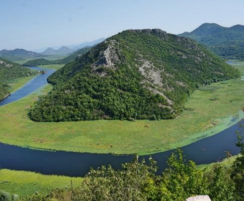 Montenegros idylliske Lake Skadar National Park