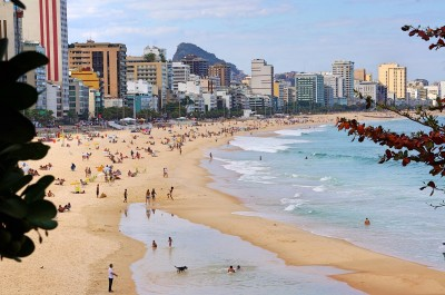 Leblon og Ipanema Beach