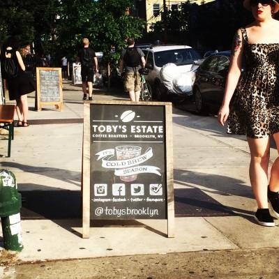 Toby's Estate Coffee, Williamsburg