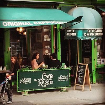 Café Reggio, MacDougal Street, Greenwich Village