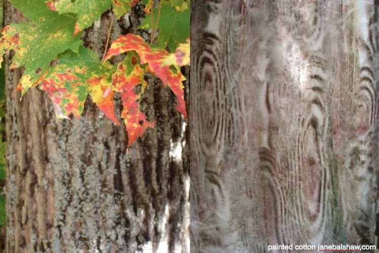 wood grained fabric; janebalshaw.com
