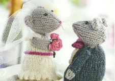 knitted bride and groom jane burns