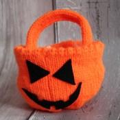 Pumpkin Trick or Treat Bowl