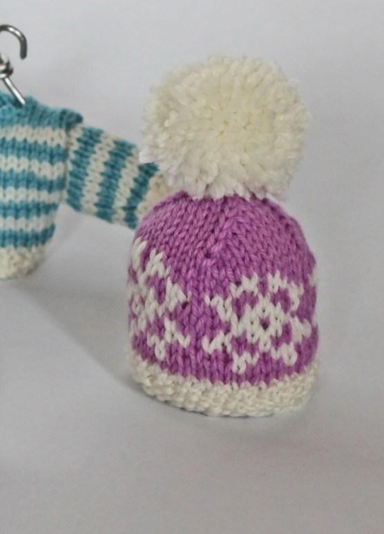 Christmas decoration jane burns knitted beanie