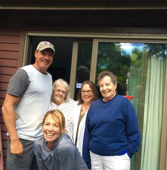 Denise, Joe, Ginny, Jane, Mom
