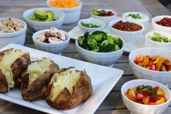 baked potato bar | jane can
