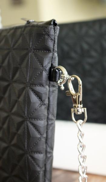 sac à main pochette matelassé