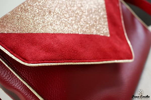Couture Besace Vintage et paillettes