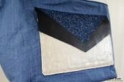Couture cabas réversible
