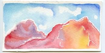 mountain scene 4