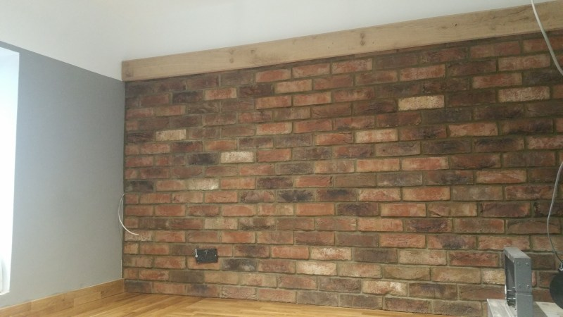 jane fitch interiors brick slips brick wall fake