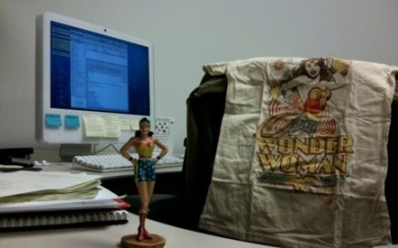 Wonder Woman at Work