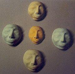 Blank Faces by Rommel Adao